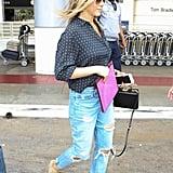 Jen's Lace-Up Wedges