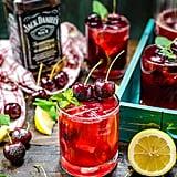 Charred Cherry Whiskey Lemonade