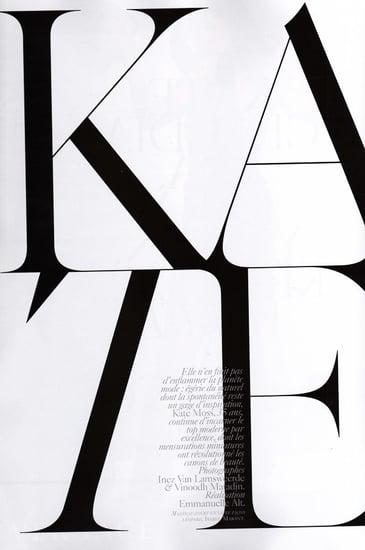 Kate Moss does Vogue Paris-october 09