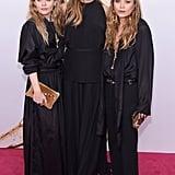 Mary-Kate, Elizabeth, and Ashley Olsen