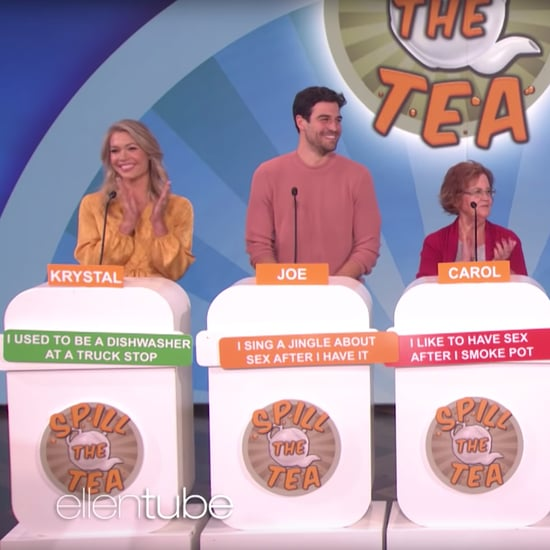 "Watch Bachelor Stars Play ""Spill the Tea"" on The Ellen Show"