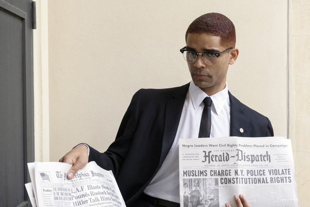 Kingsley Ben-Adir as Malcolm X in One Night in Miami