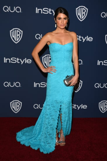 Nikki-Reed-sported-bold-blue-Monique-Lhuillier-dress-event