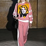 Gucci Look: This Dolly Parton Tracksuit and White Cowboy Hat