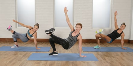 45minute bodyweight workout with cardio  popsugar fitness