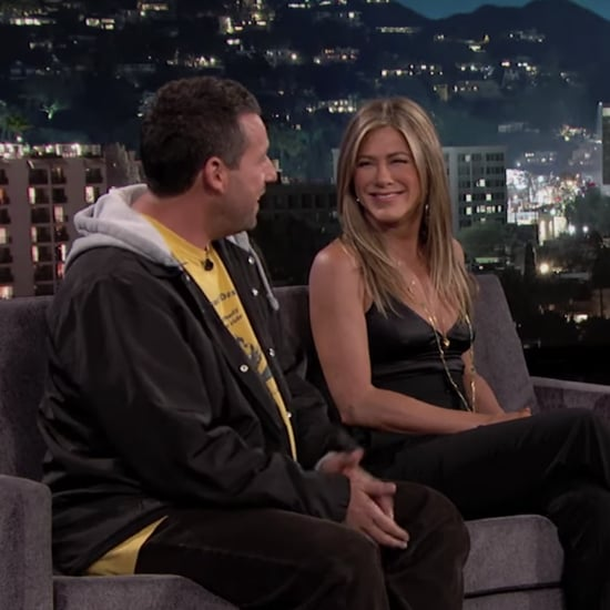 Jennifer Aniston and Adam Sandler on Jimmy Kimmel May 2019