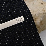 Personalized Stainless Steel Tie Clip