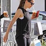 Jennifer Garner Miraculously Makes a Post-Workout Coffee Run Look Glamorous