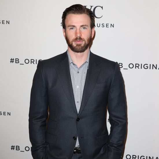 Chris Evans Talks About Jenny Slate March 2017