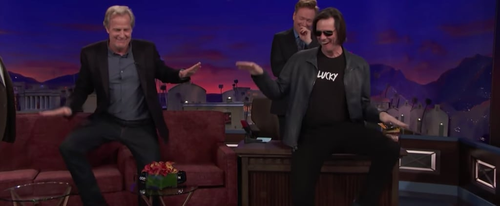 Jim Carrey and Jeff Daniels Dumb and Dumber Reunion on Conan