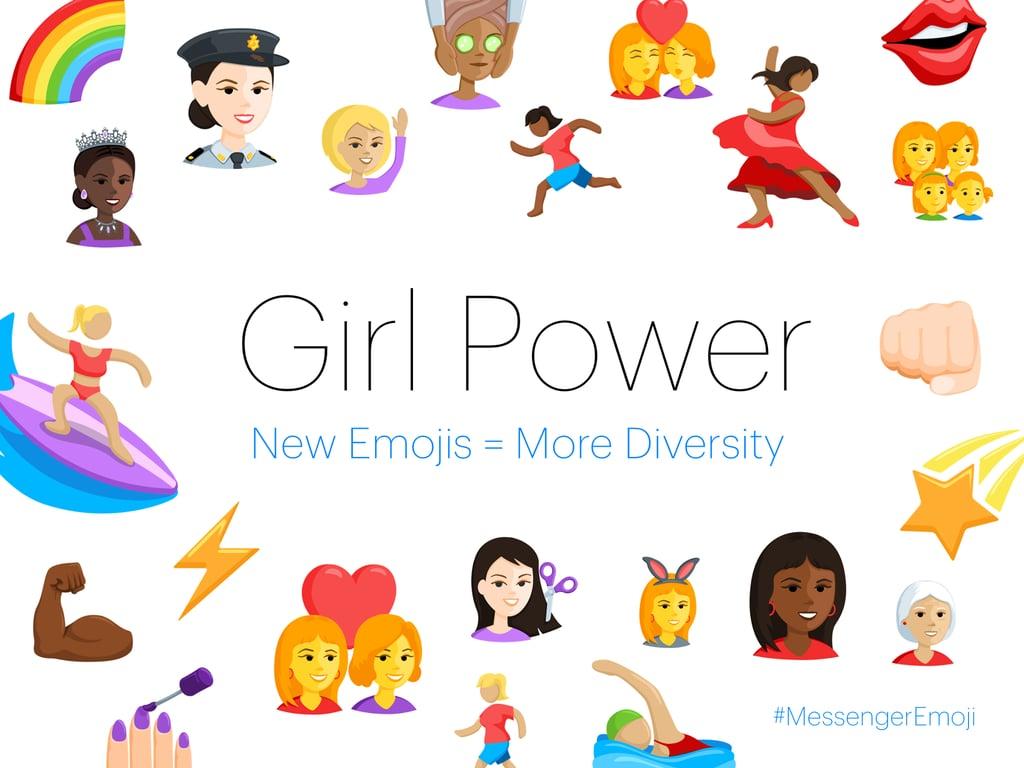 Diverse Facebook Messenger Emoji