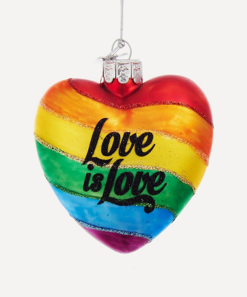 Liberty London Love Is Love Ornament