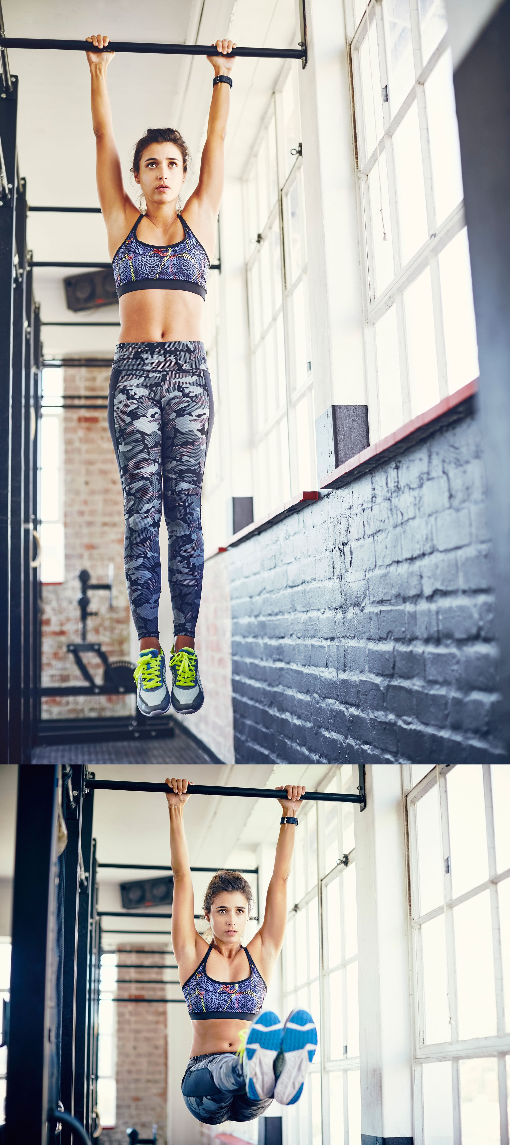 How to Do a Hanging L-Sit Hold   POPSUGAR Fitness UK