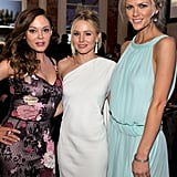 Rose McGowan, Kristen Bell, and Brooklyn Decker got their philanthropy on at UNICEF's 2011 Ball in LA.