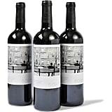 Polaroid-Style Wine Label