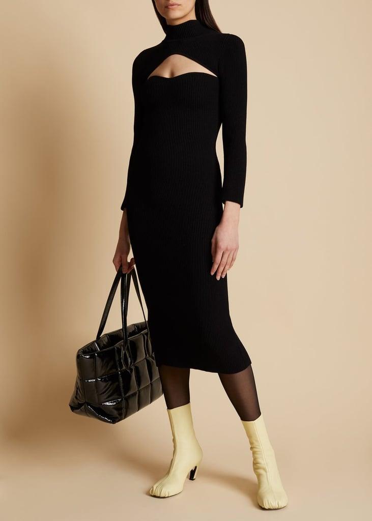 Khaite The Mischa Dress in Black