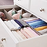 Grey Drawer Organizers