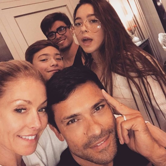 Kelly Ripa Family Selfie November 2016