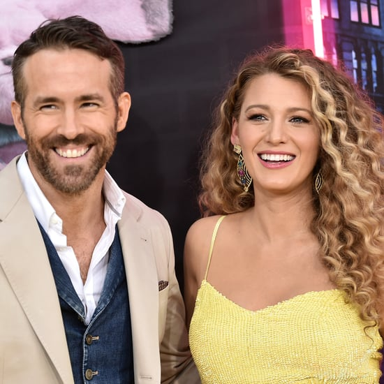 Ryan Reynolds Helped Blake Lively Dye Her Hair at Home