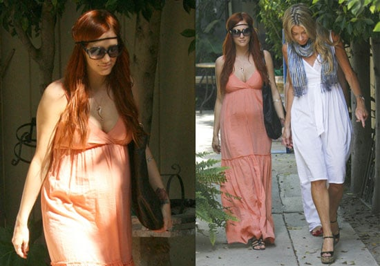Photos of Pregnant Ashlee Simpson in LA