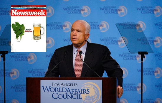 On the Newsstand: McCain vs. McCain