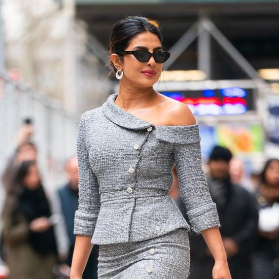 Priyanka Chopra Clear Sergio Rossi Heels April 2019