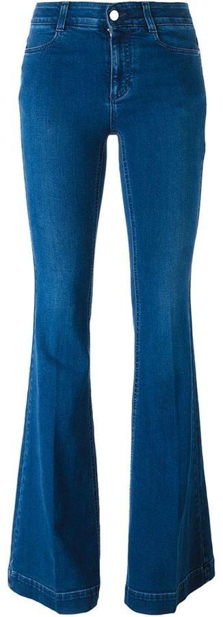 Stella McCartney Indigo Flared Jeans ($365)