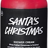 LUSH Santa's Christmas Shower Cream