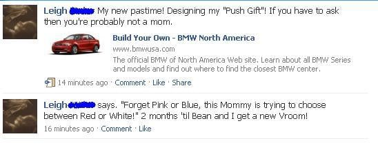 Hysterical Facebook Updates by Unassuming Moms