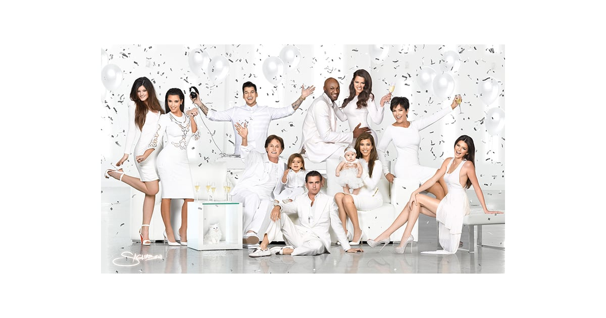 The whole Kardashian-Jenner family, including Kim\'s late cat Mercy ...