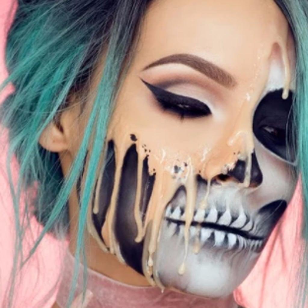 Desi Perkins Halloween Makeup