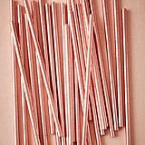BHLDN Rose Gold Straws ($7)