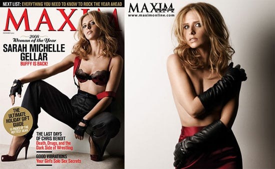Sarah Michelle Gellar Is Sexy and Scrappy