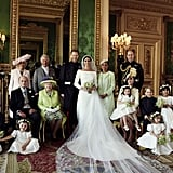 The Royal Family at Prince Harry and Meghan Markle's Wedding