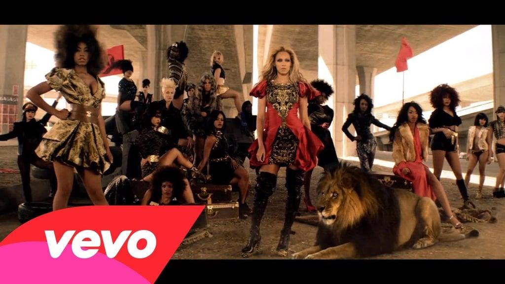 "Beyoncé in Gareth Pugh for the ""Run the World (Girls)"" video (2011)"