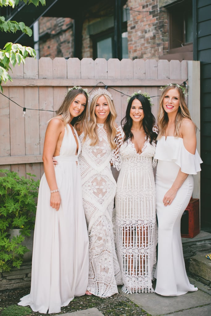 Bridesmaid Dresses in the Same Color