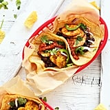 Spicy Plantain Black Bean Tacos