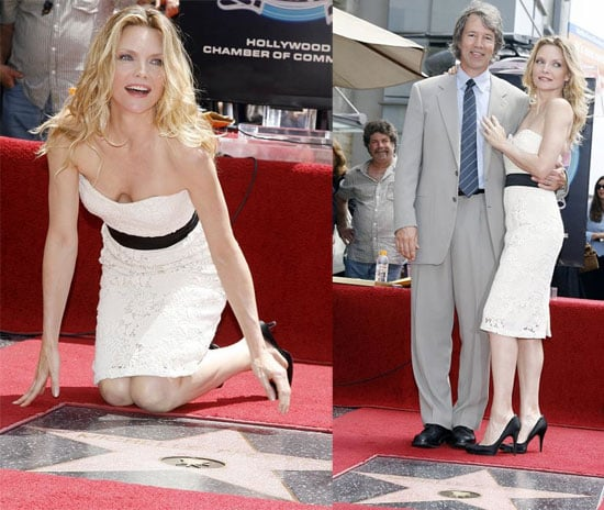 Michelle Does The Walk Of Fame