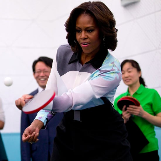 Michelle Obama Looking Cool