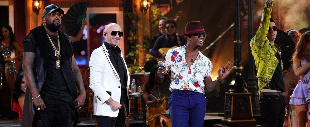 Ne-Yo, Pitbull Performance at Latin AMAs 2019