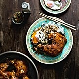 Braised Chicken Legs With Fried Chili Capers