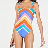 Trina Turk Sunset Chevron One-Piece Swimsuit