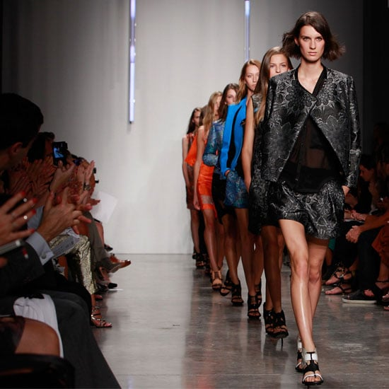 Pictures and Review of Helmut Lang Spring Summer New York Fashion Week Runway Show