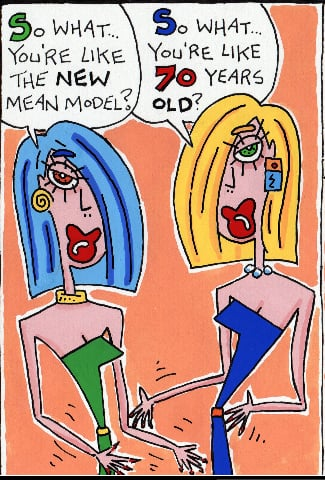 Simply Fab: Mean Model Comics