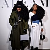 TK Wonder and Cipriana Quann at Adeam Fall 2019