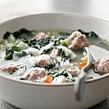 Gluten-Free: Kale, White Bean, and Meatball Soup