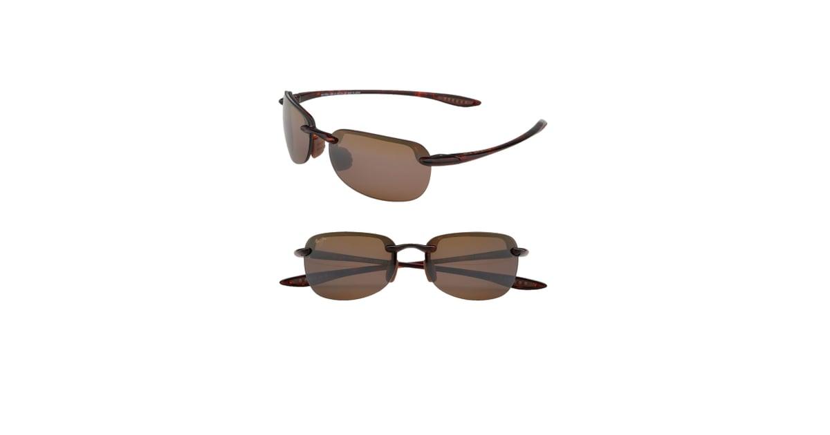 d923e9ad07cc Maui Jim Sandy Beach 55mm Polarized Semi Rimless Sunglasses ...