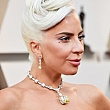 Lady Gaga Wears 128-Carat Yellow Tiffany Diamond Necklace to 2019 Oscars