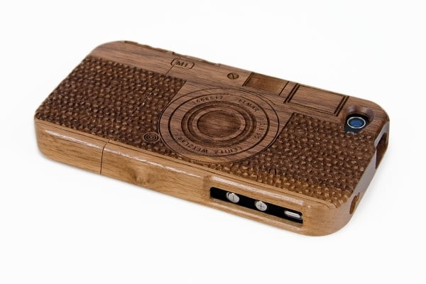 Photogs will love the intricate carving of this wooden camera iPhone case ($42). It's made from walnut wood, known for its sustainability, to last as long as you keep shooting!