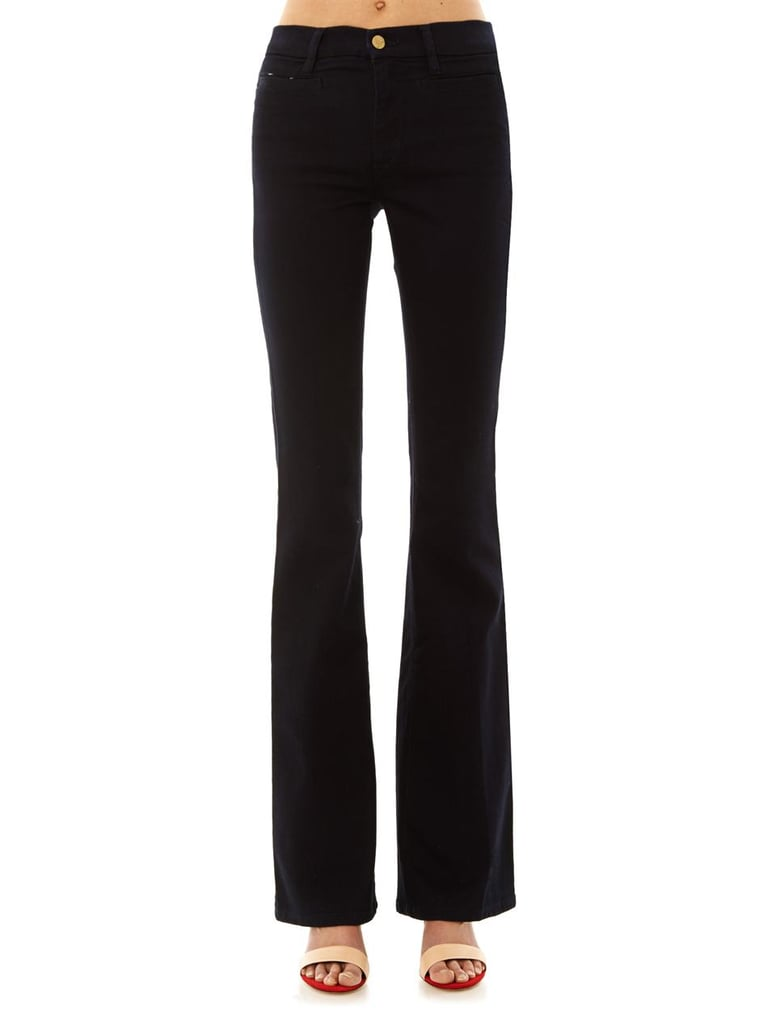 MIH Marrakesh High-Rise Kick-Flare Jeans, $286